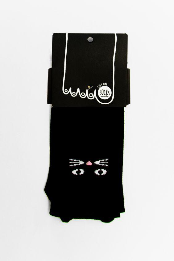 Meow ! Lazy Oaf Kitty Socks