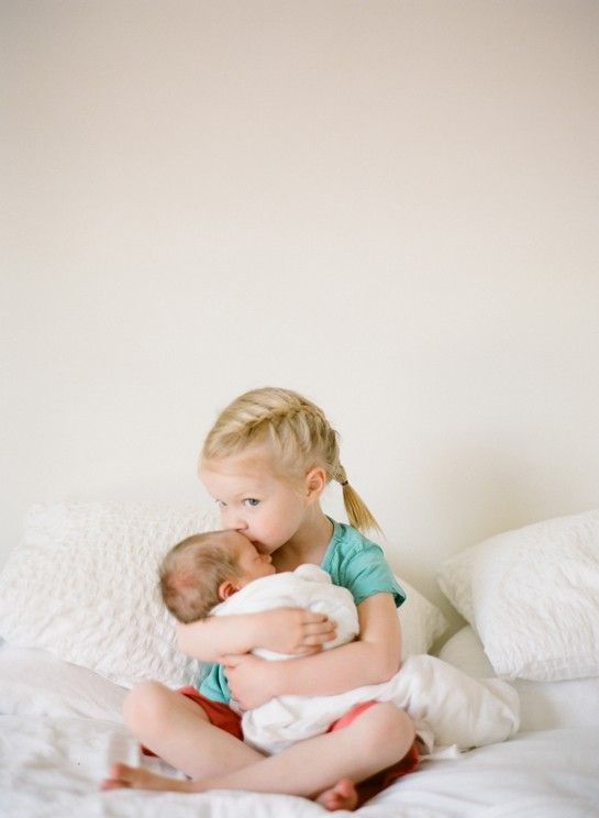 Kyleigh one day with her new brother or sister!!!
