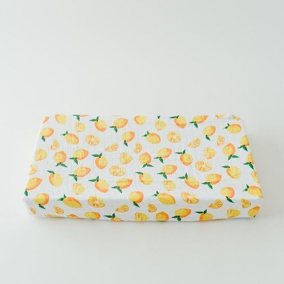NEW: Muslin Changing Pad Covers now available at spearmintLOVE.com