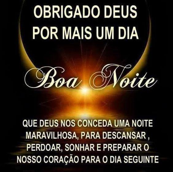 Agradecendo A Deus Por Mais Um Dia Boa Noite Com Deus Mensagem
