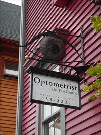 - Optometrist - Lunenburg, Nova Scotia - Unique Artistic Shop Signs on Waymarking.com