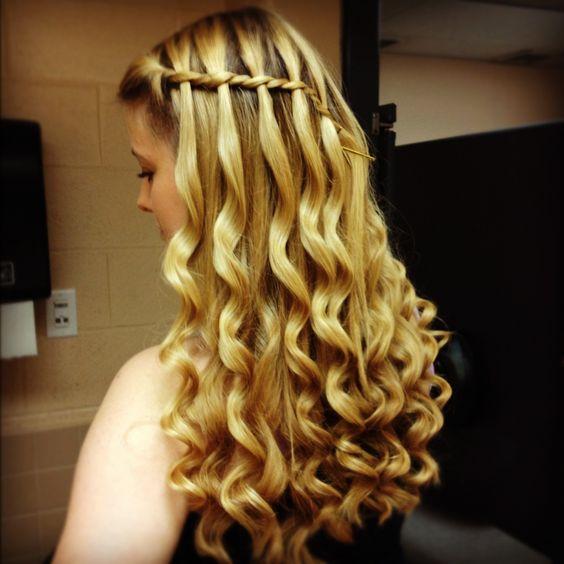 Admirable Waterfall Twist Twist Braids And Curls On Pinterest Short Hairstyles For Black Women Fulllsitofus