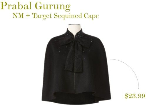 NM + Target Collection: Prabal Gurung Cape (on sale)
