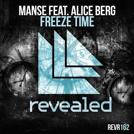 Manse, Alice Berg – Freeze Time (single cover art)