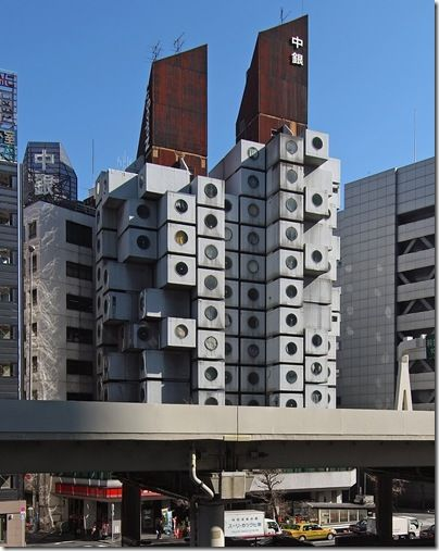Nakagin Capsule Towers (Tokyo, Japan)