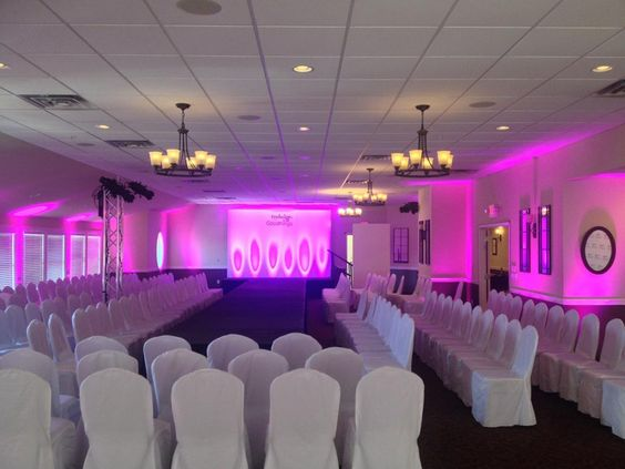 A couple weeks ago we provided staging and lighting for a fashion show held at Manitou Station. Check it out.