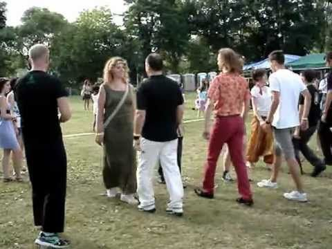 NovaAria 2012 - Gens d'Ys - Lezione di Danza Irlandese (1)