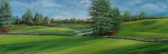 Ballantyne 8x24 oil on canvas