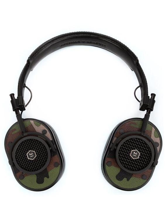 Master & Dynamic 'MH40' Over-Ear-Kopfhörer mit Camouflage-Print