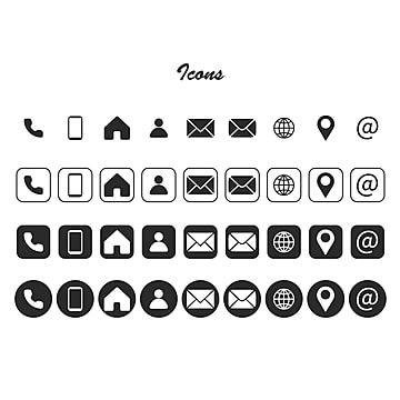 رموز المكالمات الرمادية اتصل أيقونة علامات Png والمتجهات للتحميل مجانا Contact Icons Vector Icon Game Logo Design