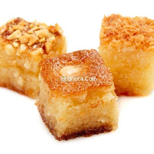 البسبوسة بالبرتقال بسبوسة البرتقال اللذيذة بسبوسة بالبرتقال والمكسرات بسبوسة بالقشطة بسبوسة محشية بسبوسة مصرية وص Cooking How Sweet Eats Ramadan Desserts