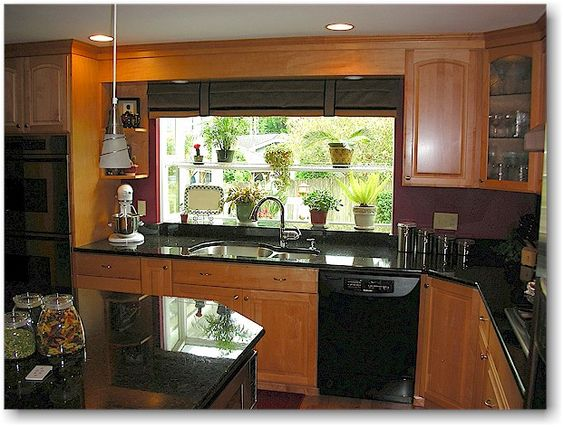 Countertops Black Appliance Kitchen And Cabinets On Pinterest