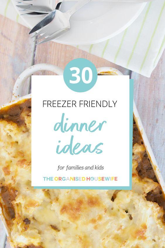 30 Freezer Friendly Dinner Ideas for Kids