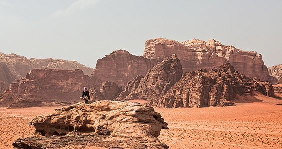 Wadi Rum (The Valley of the Moon, Jordan) | Flickr: partage de photos!