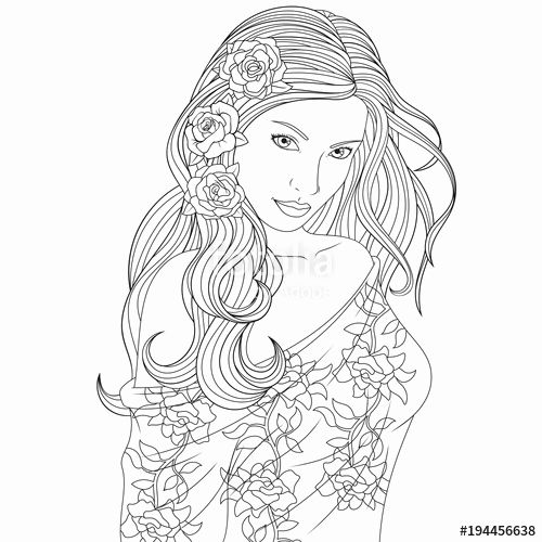 35++ Coloring pages for girls ideas in 2021