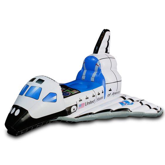 Jr. Space Explorer Child Inflatable Space Shuttle   BirthdayExpress.com