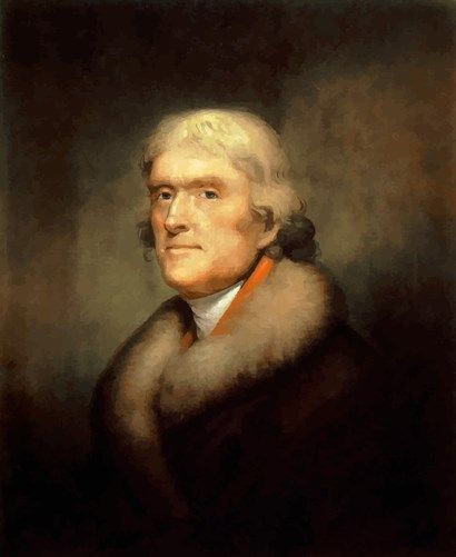 Thomas Jefferson at FramedArt.com