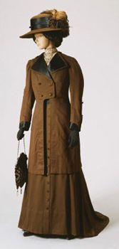 Woman's Dress and Jacket    Made in United States  c. 1908