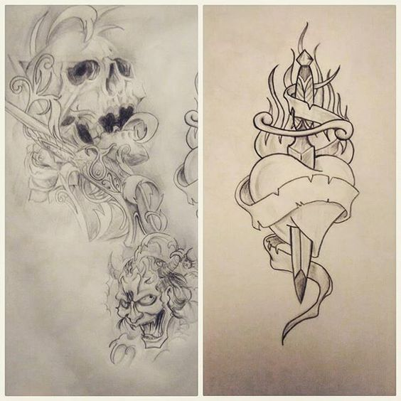 Rascunhos de ontem . 61 98276-3323, águas claras#tatuagem#tattooidea #desenhotattoo #tatuagemideias #caveira #skull #sketch #sketchbook #oldschool #oldschooltattoo #tattoo2me #heart #hearttattoo #daggertattoo #hannya #tatuadordf #aguasclaras #taguatinga #brasilia