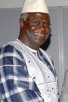 Ernest Bai Koroma, en 2008 (Sierra Leone)