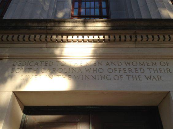 WW I War Memorial Building Sumter Street