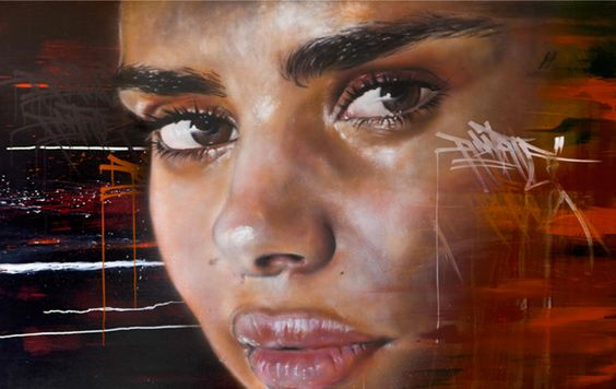 We were stoked to hear Melbourne street artist, #Adnate had entered the prestigious #ArchibaldPrize #SamanthaHarris