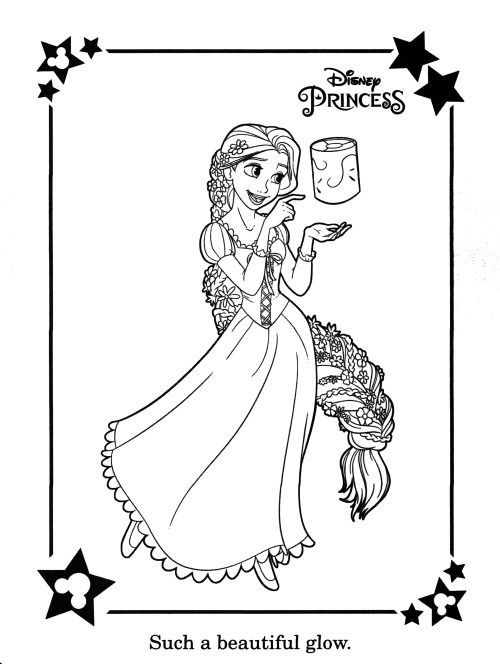 Rapunzel Disney S Color Play Ar Disney Colors Disney Coloring Pages Coloring Pages