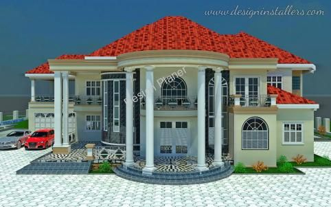 5 Bedroom House Classic House Design Beautiful House Plans House Design Pictures