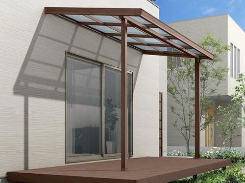 フル木製調 サザンテラス パーゴラタイプ 2020 テラス 家の正面 ベランダ 屋根