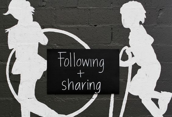 Which local businesses do you <3? Follow? Share?: Social Commerce