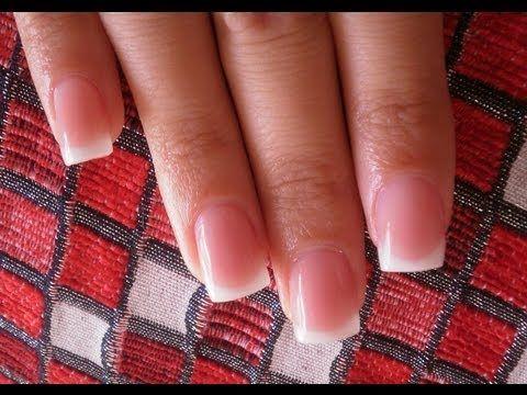 tutorial relleno uñas de gel paso a paso (español) - YouTube
