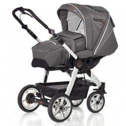Babyland-Online.com > Baby Unterwegs > Kinderwagen und Sportwagen > HARTAN Racer GTS HB 913 Softtasche, Gestell weiß