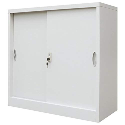 Unfade Memory Modern Fashion Style Office Cabinet With Sliding Doors Metal Suitable For Office Organization Materia Locker Storage Office Cabinets Style Office