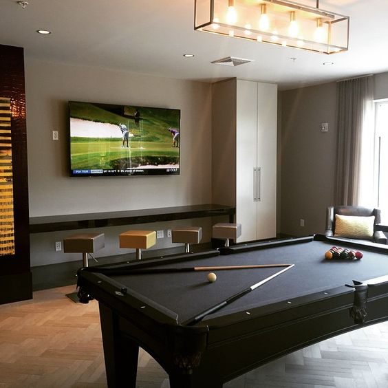 Ditch the pool hall and play a game of billiards right at home! | Glen Mills, PA apartment homes with luxury amenities