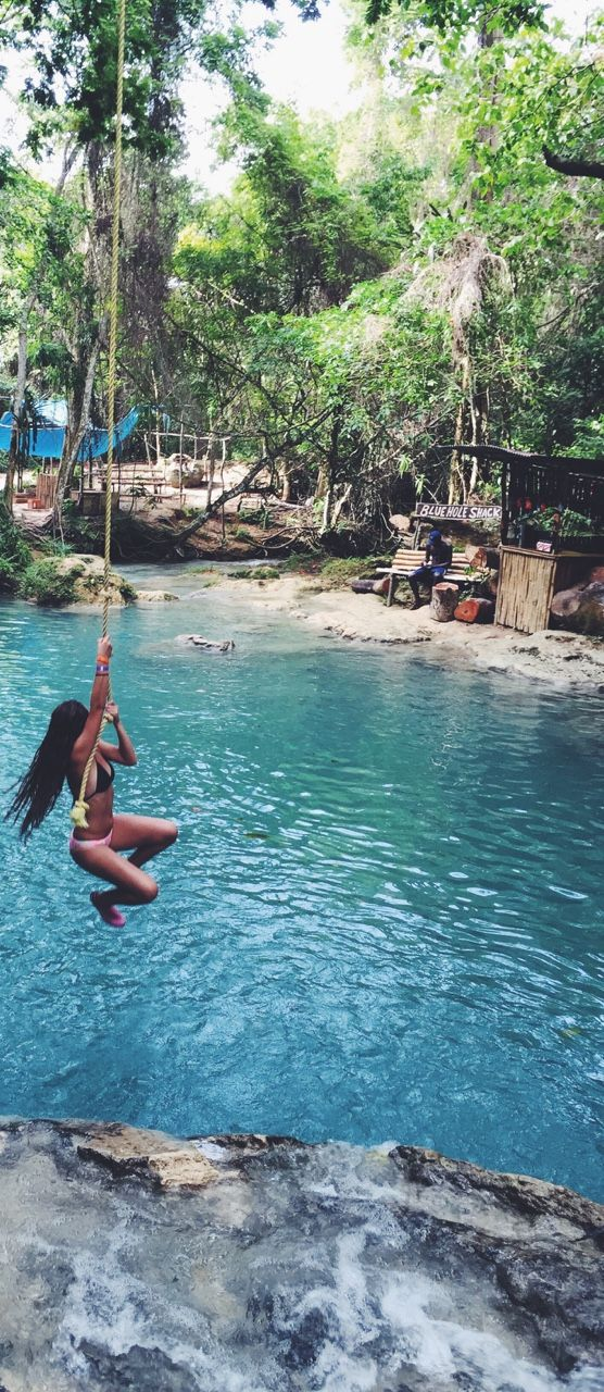 blue hole,  Jamaica                                                                                                                                                     More