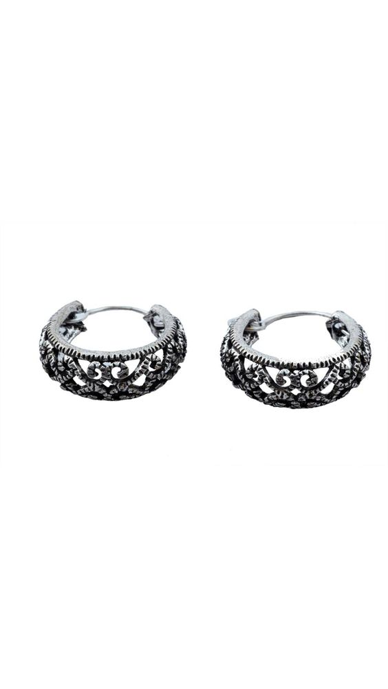Buy Waama Jewels Ballerina Style Alloy Hoop Earring, hollywood top, party wear jewellery, latest jewellery for women, best on today, bridal wedding me08 Online at Low Prices in India - Paytm.com