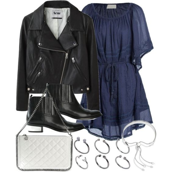 Untitled #18439 by florencia95 on Polyvore featuring polyvore, fashion, style, Love Sam, Acne Studios, Golden Goose, STELLA McCARTNEY, Monica Vinader, ASOS and clothing