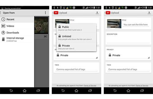 Upload Hevc To Youtube From Android Video Converter Youtube