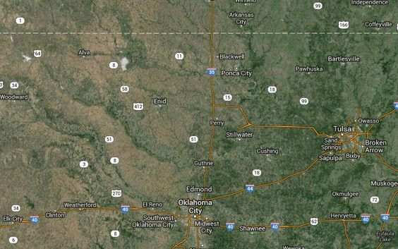 Oklahoma had 2 earthquakes today (3/15/14) 28 earthquakes in the past 7 days -  119 earthquakes in the past month -  398 earthquakes in the past year - Scientists have tied the increased activity to FRACKING.