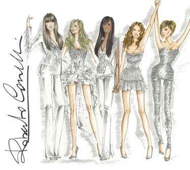 Resultado de imagem para Spice Girls por Roberto Cavalli