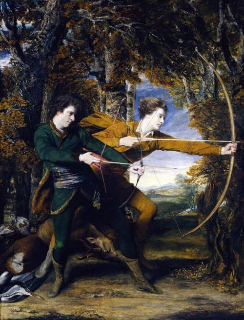 sakrogoat:  Joshua Reynolds - Colonel Acland and Lord Sydney:...