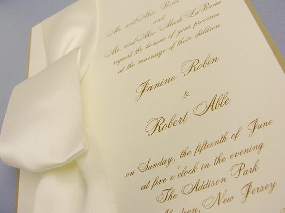 Large Love Knot Invitation  Sample Order by NatImpDesign on Etsy, $7.60