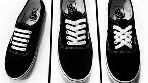 Vacunar Escabullirse Teseo  3 Creative Ways To Tie Shoe Laces | Cordones de zapatillas, Cordones para  zapatos, Formas de amarrar zapatos