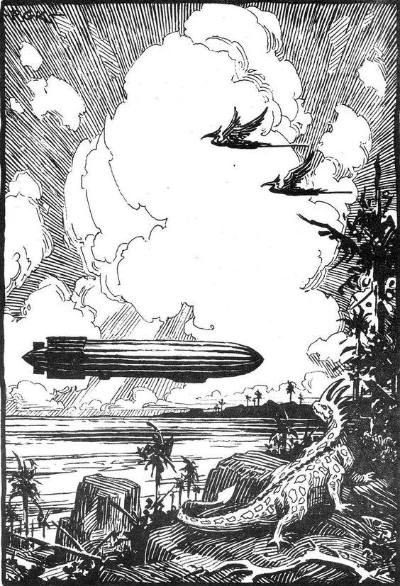 roseonplanetq: Illustration by Roy G. Krenkel.: