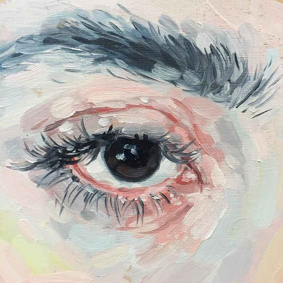 "Shanna Van Maurik on Instagram: ""Forgot to add this little eye study to the shop yesterday but it's there now! Lots of $50 paintings left and a couple special originals…"""
