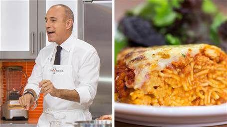 Make the spaghetti pie that Matt Lauer can't get enough of