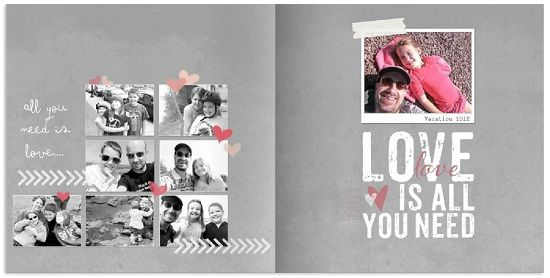 A Photo Book Style Just for Digital Scrapbooking - Shutterfly's DigiScrap Photo Book design.