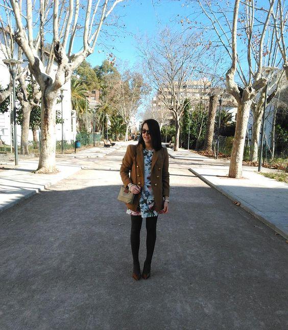 Zara Cabañes Blog: FLOWERS - DRESS - LOOK 267