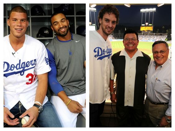 The Dodgers salute the Lakers and Clippers: Sports News, Clipps Nation, Baseball Boxing, La Blue, Los Angeles, Dodgers Salute