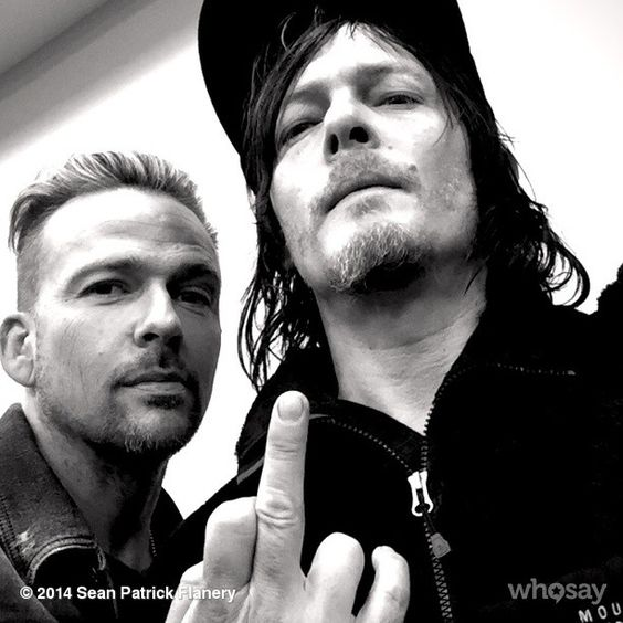 """BLAM! @wwwbigbaldhead Norman Reedus get's toxic dose... http://www.whosay.com/l/dFc9CgE"""